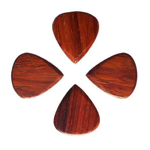 Blues Tones Padauk 4 Guitar Picks